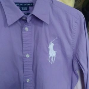 Ralph Lauren slim fit big pony Oxford